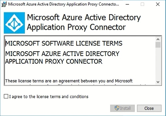 How to install the Application Proxy Connector and publish