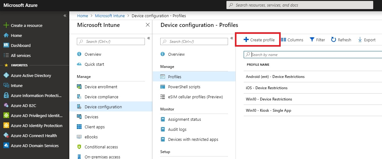 How to configure Windows 10 in Multi App Kiosk mode with