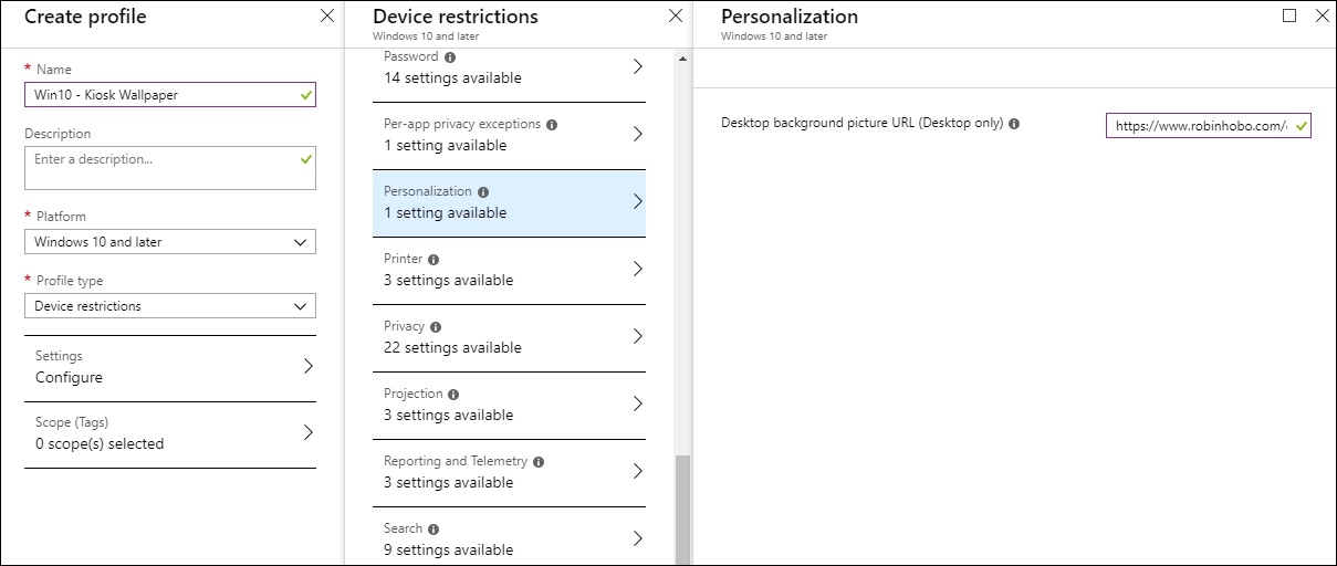 How to configure Windows 10 in Multi App Kiosk mode with Microsoft