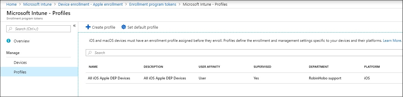 How to configure Apple DEP within Microsoft Intune and migrate