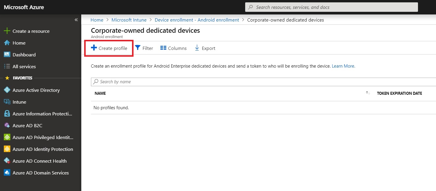 How to setup Android Enterprise – Corporate-owned dedicated